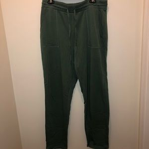 American Eagle Olive Joggers - Size Large Long